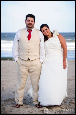 Beach Wedding Photography by Scott Clevenger Photography