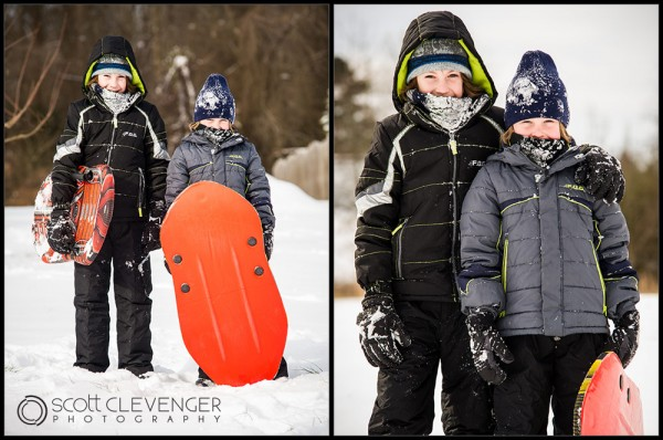 Snow Days! Scott Clevenger Photography
