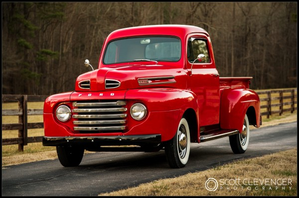 1949 Ford Pickup By Scott Clevenger Photography